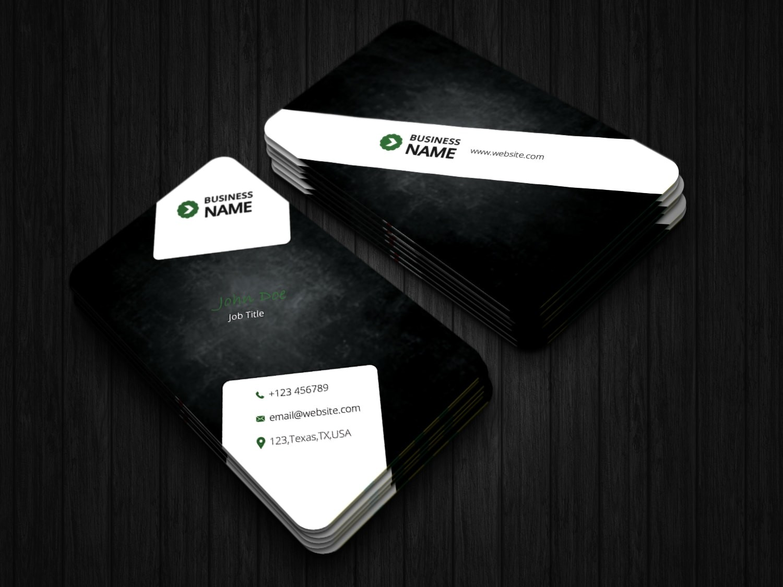 Black Shadow Business Card
