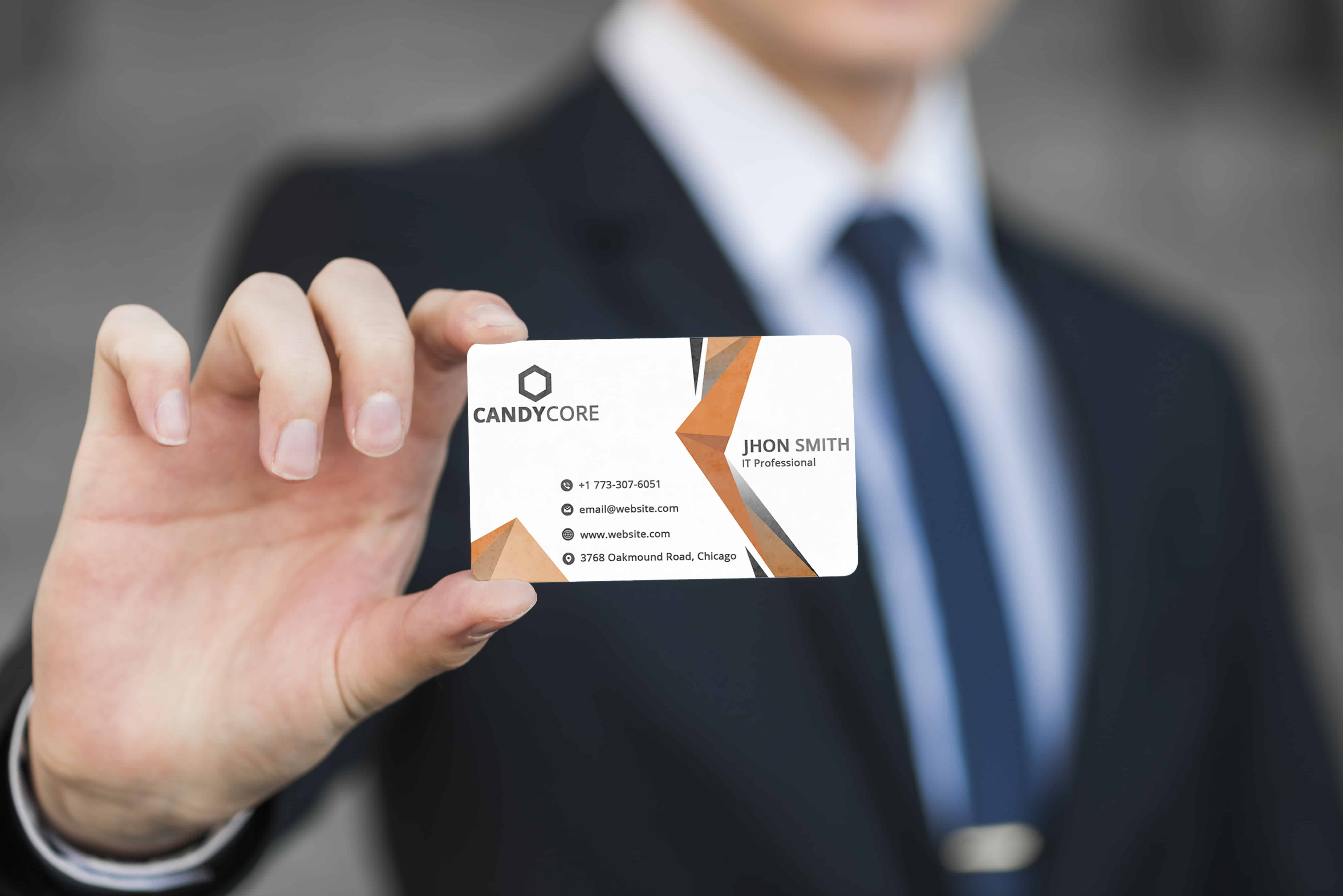 CandyCore Corporate Business Card