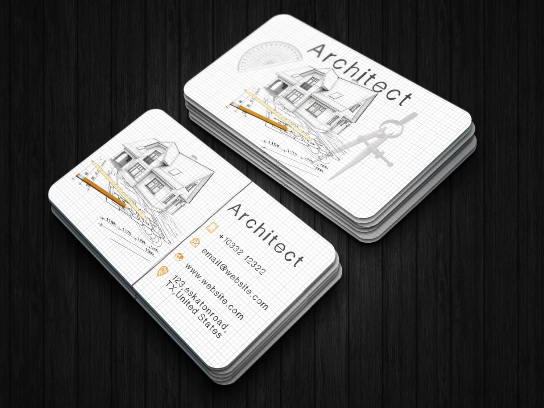 Creative Architect Business Card