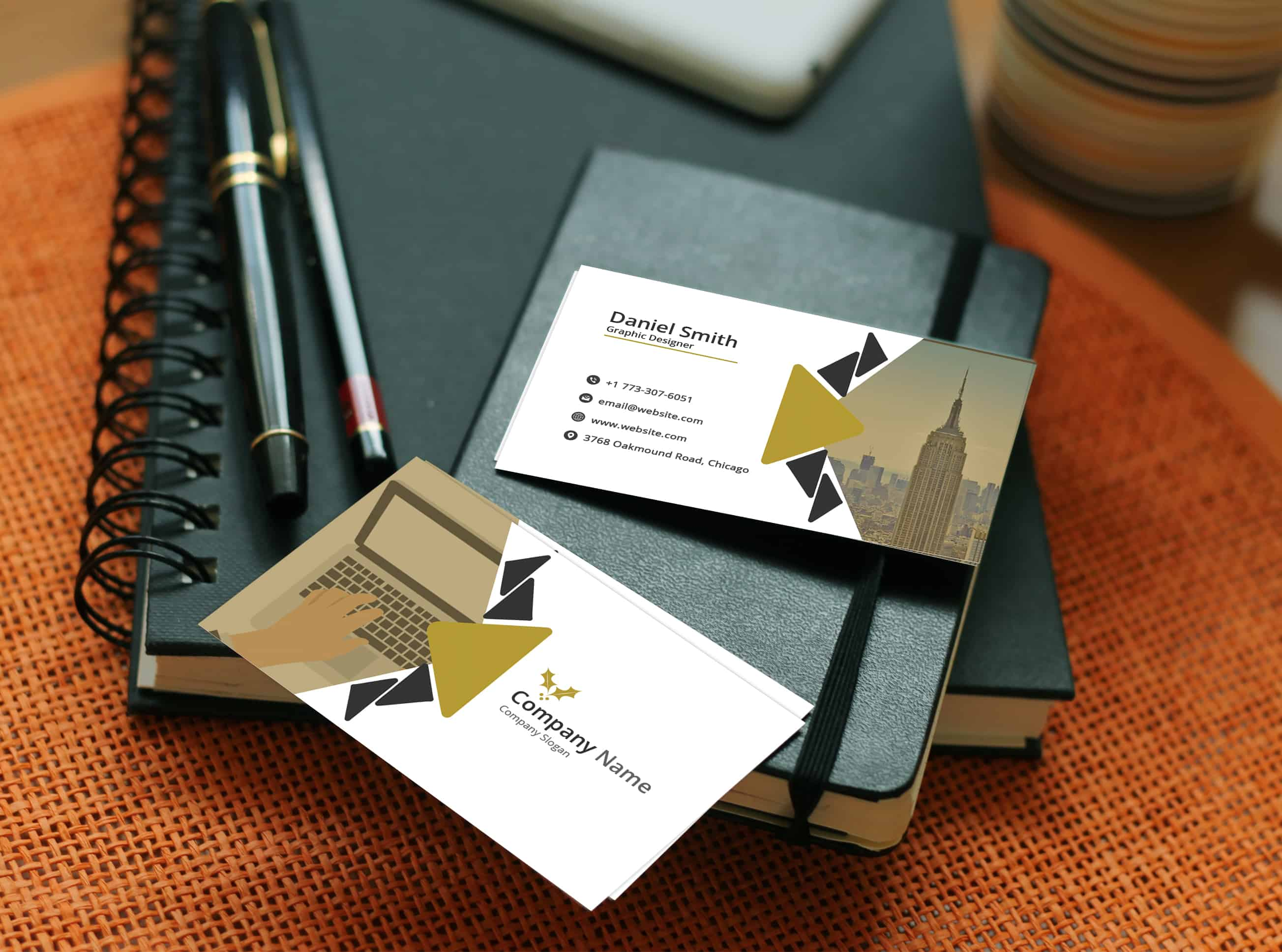 Fresh Corporate Business Card