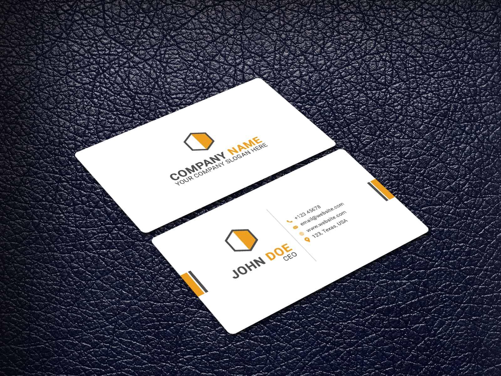 Fresh Light Business Card