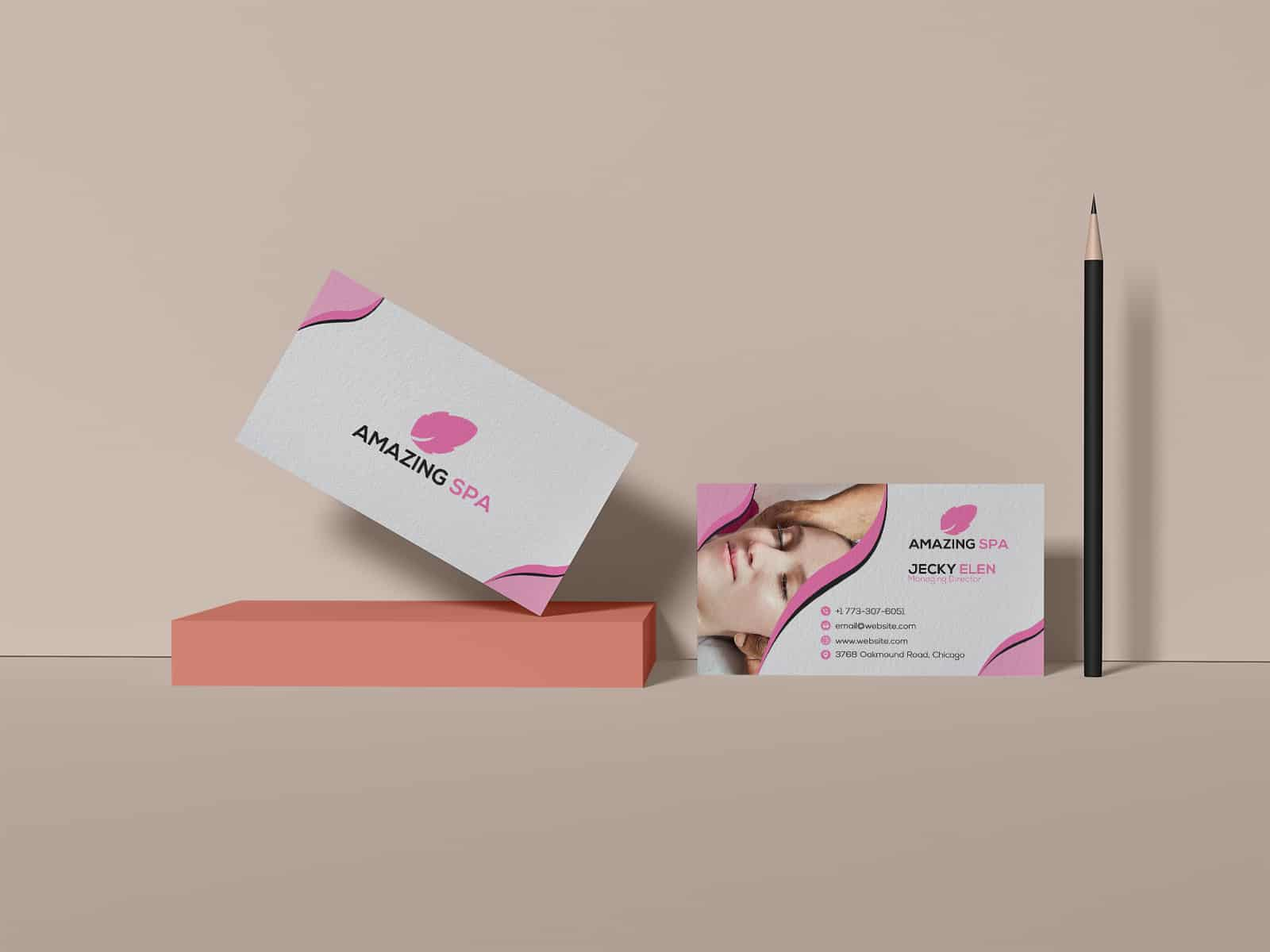 Amazing SPA Business Card