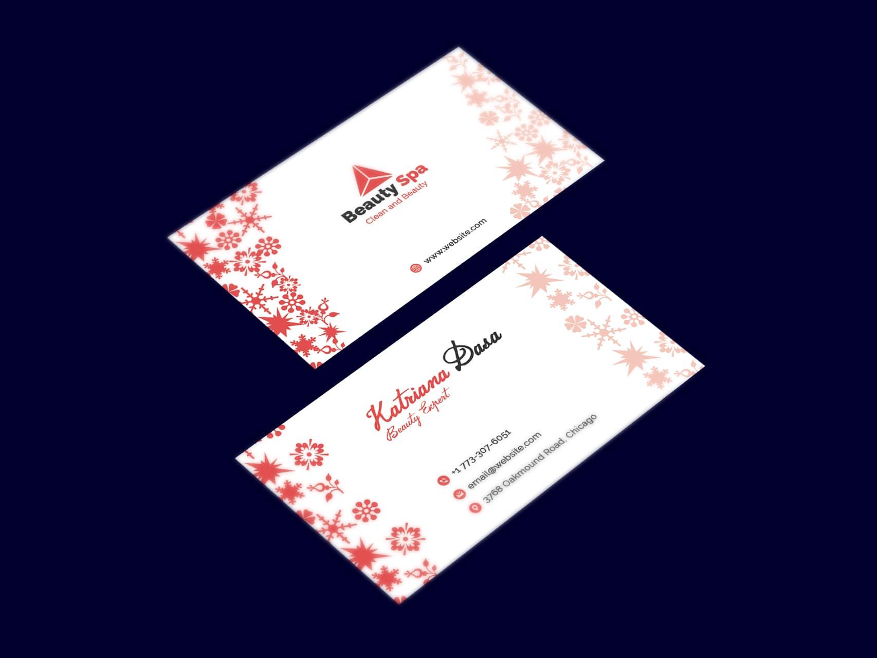 Beauty SPA Business Card