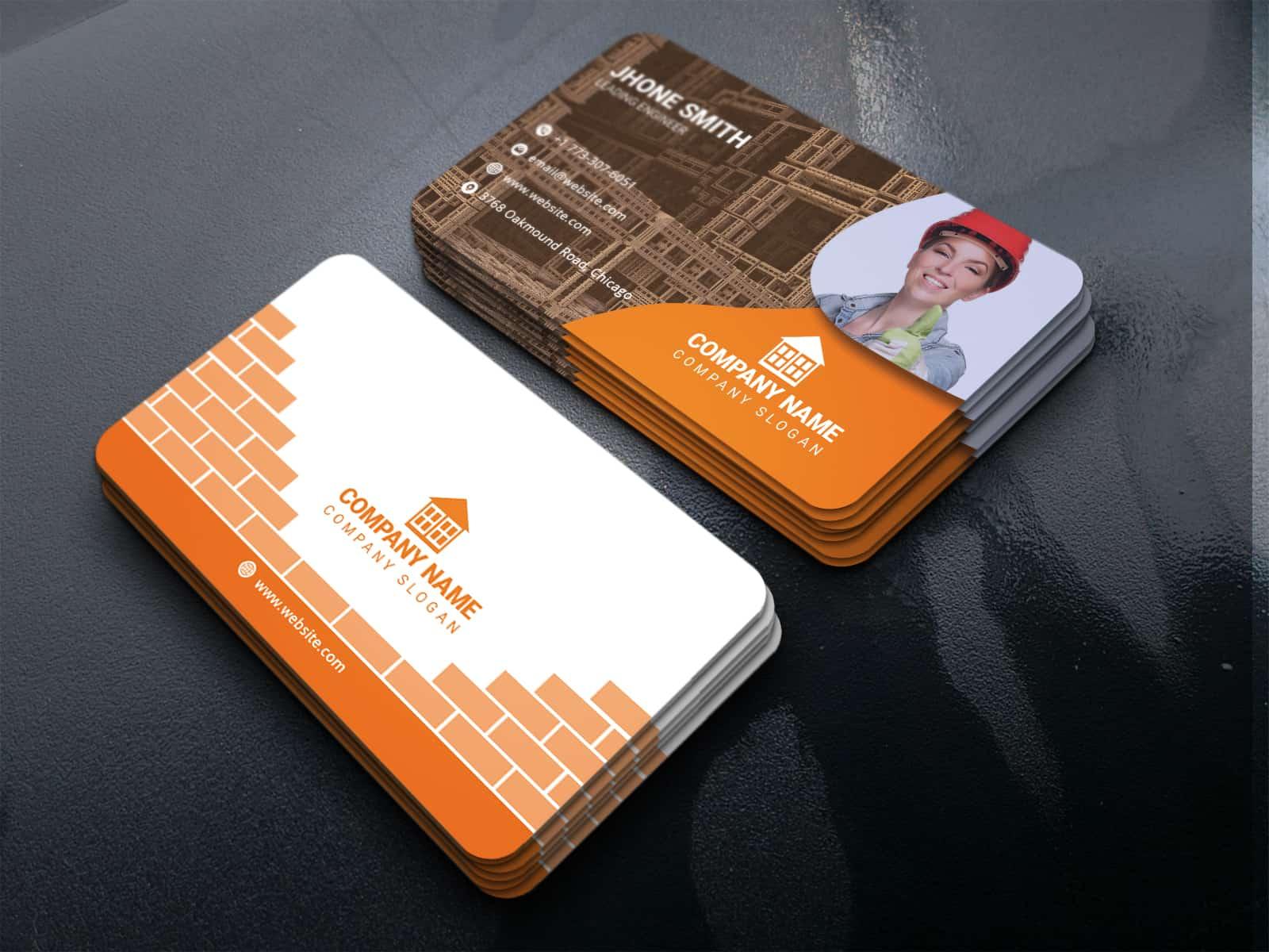 Developer Company Business Card Template