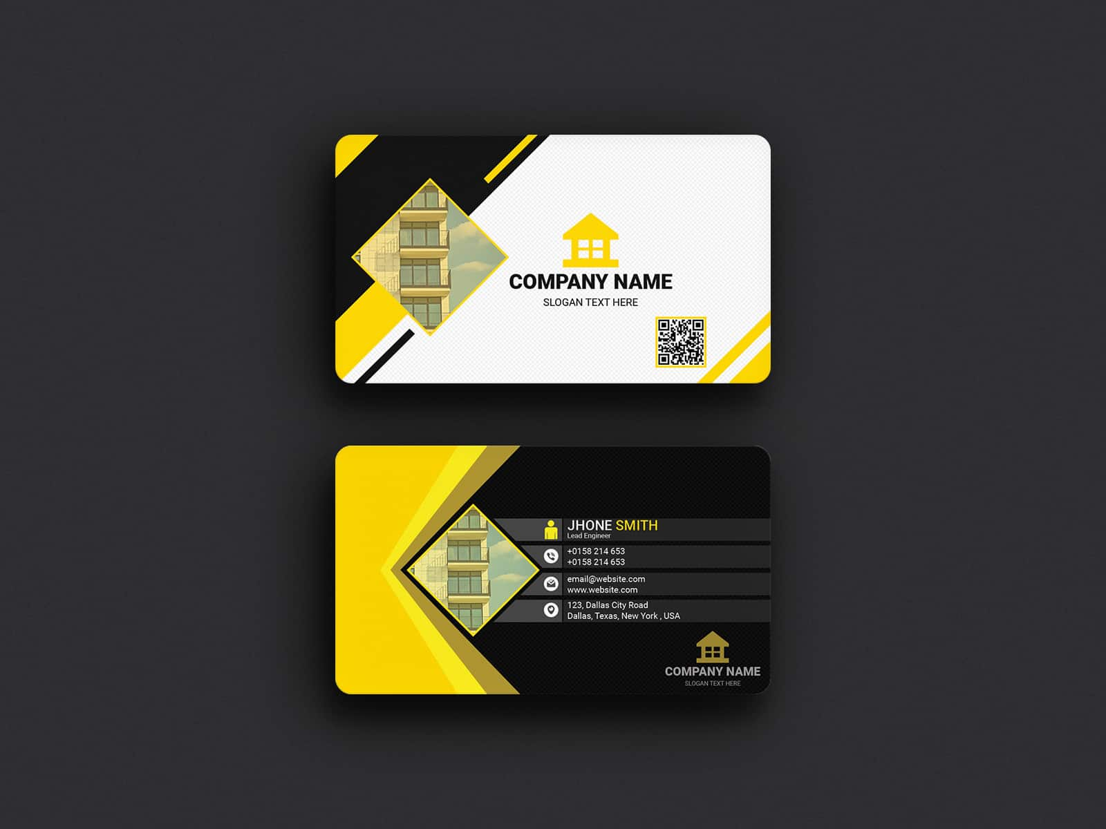 Developer Company Business card