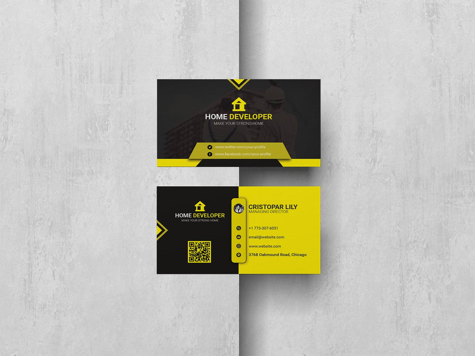 Home Developer Business Card