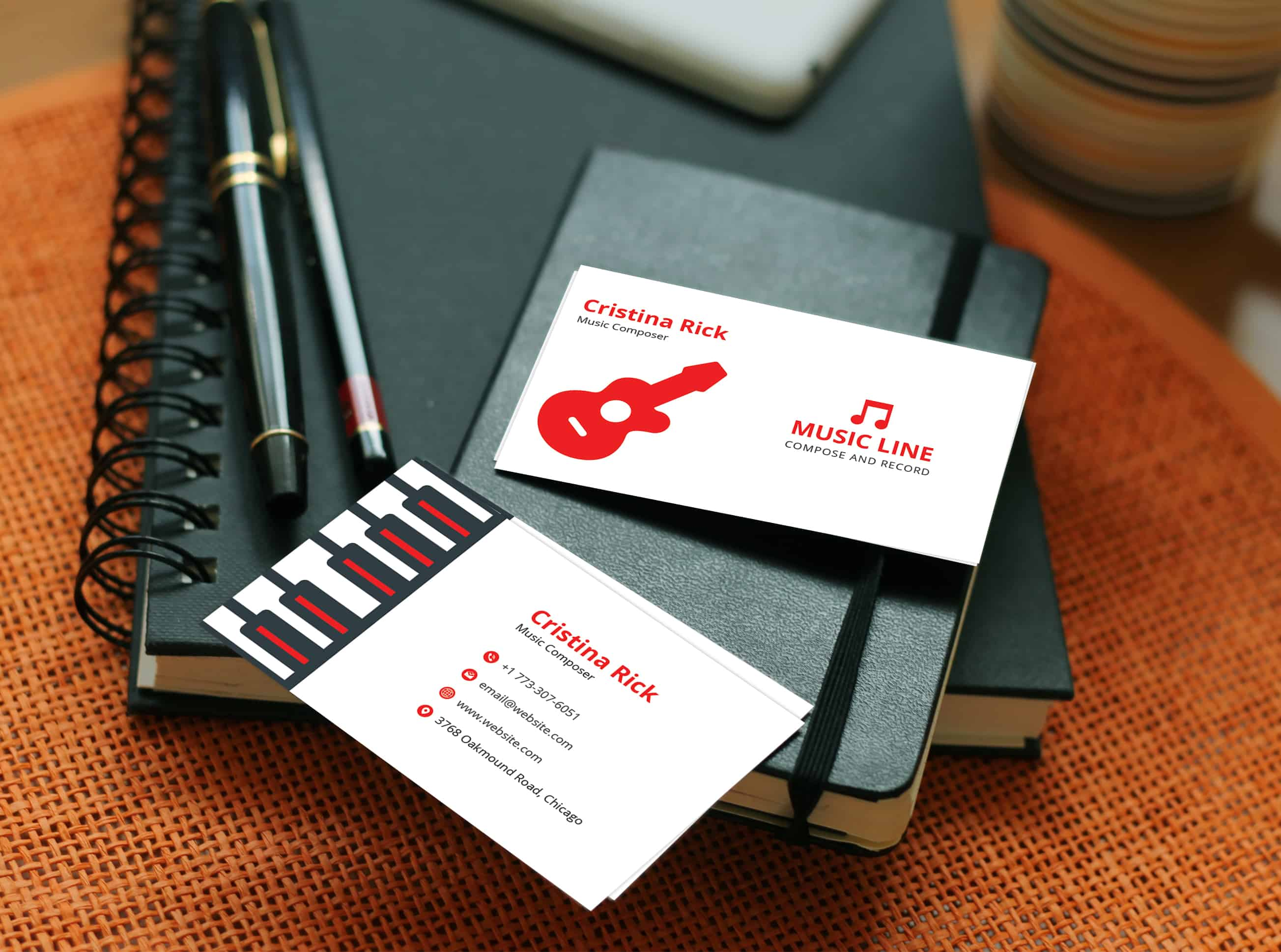 business card composer coupon