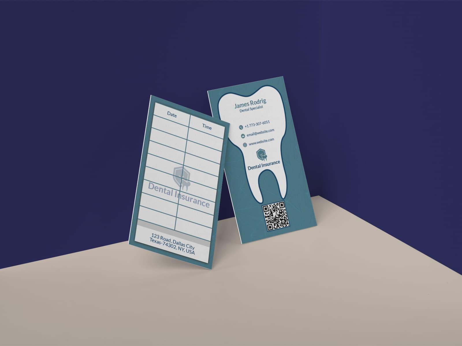 Dentist Visiting Card