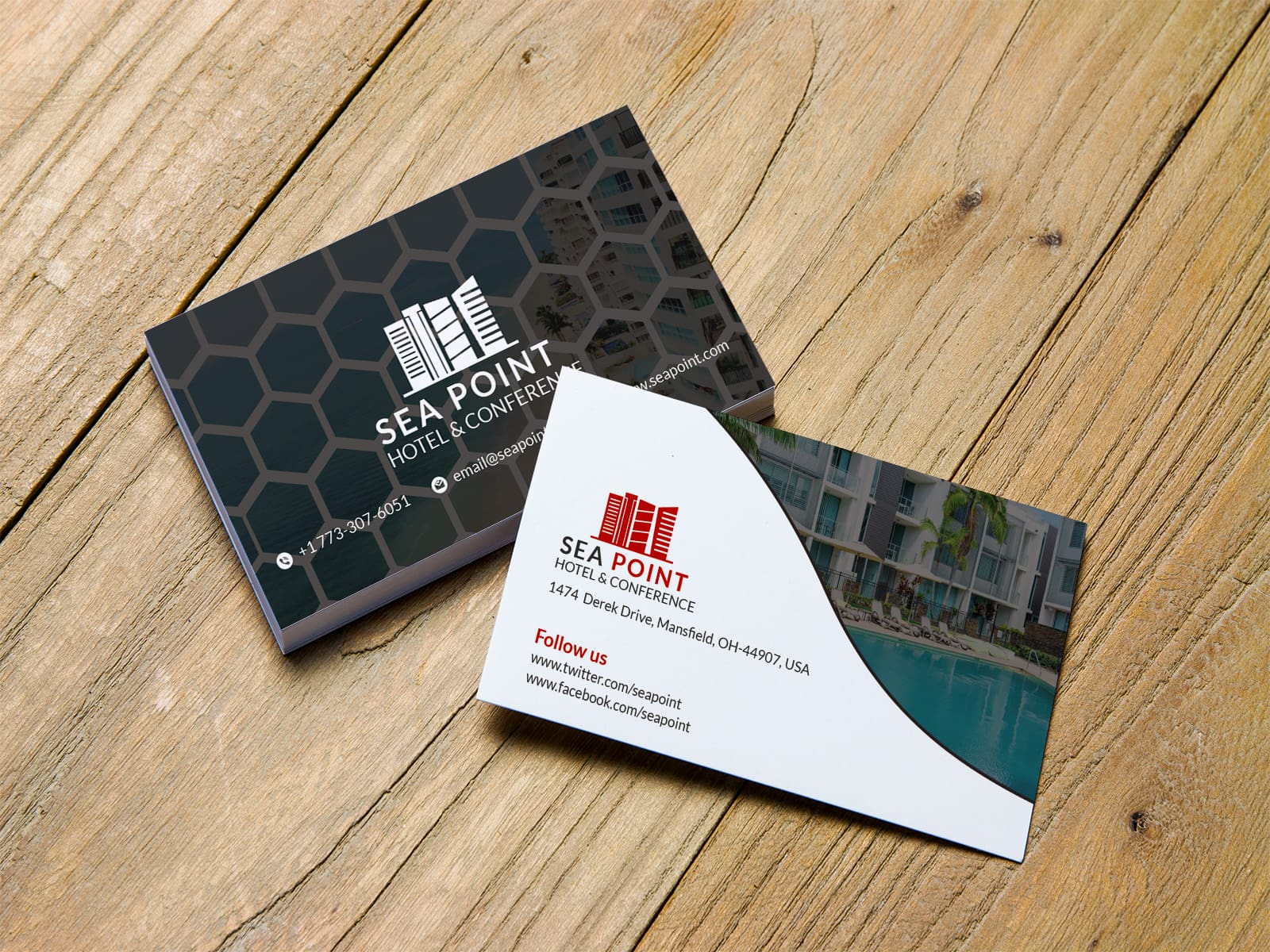 Sea Point Hotel Business Card