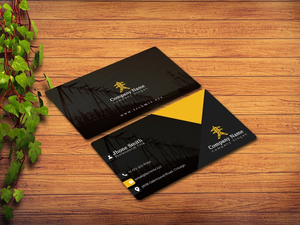 Electrical Engineer Business Card