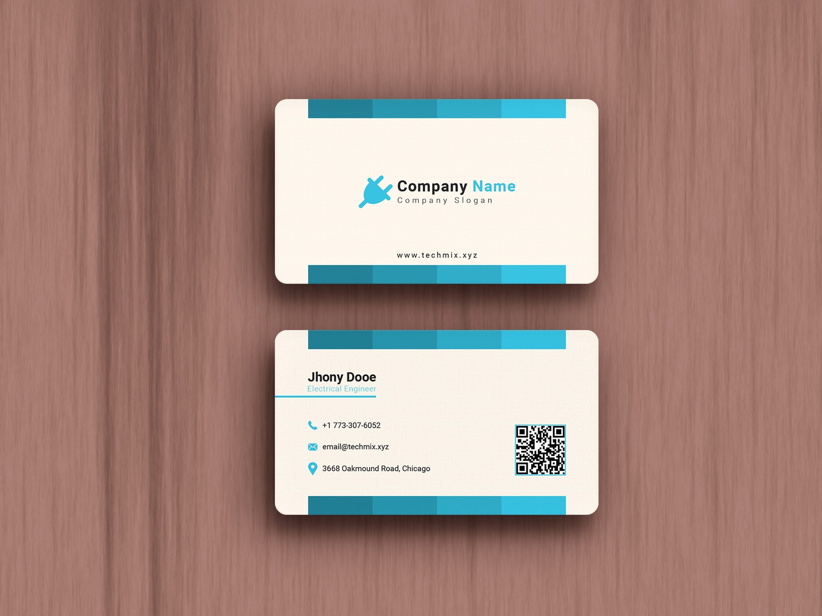 Electrical Engineer Business Card Design