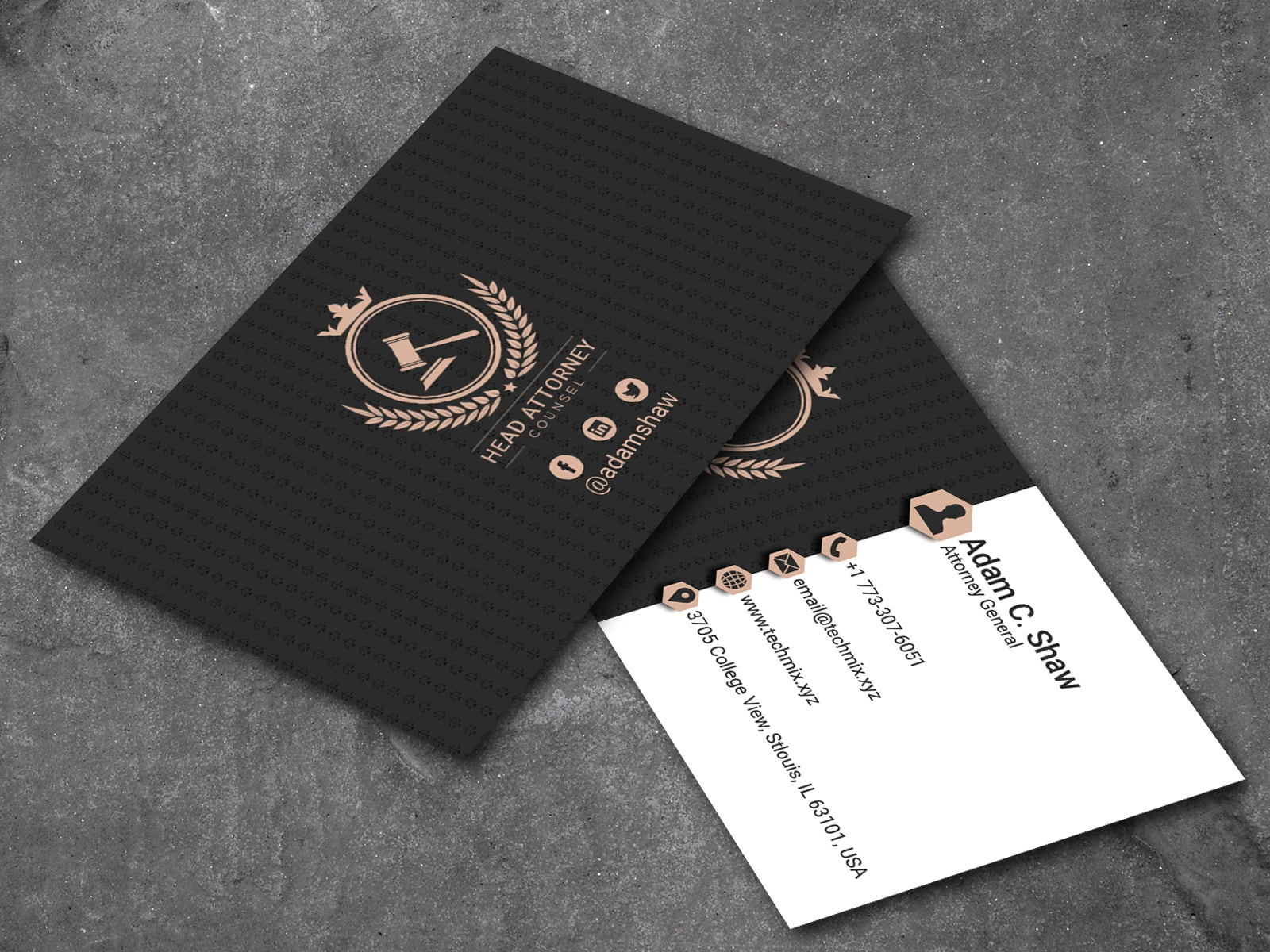 Attorney General Business Card