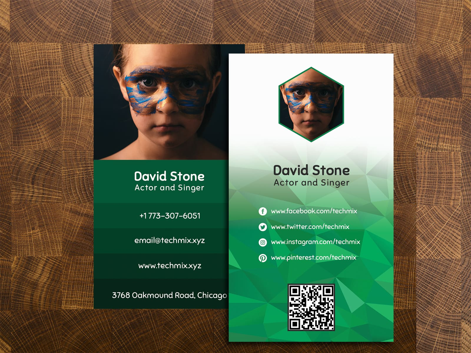 Best Actor/Actress Business Cards