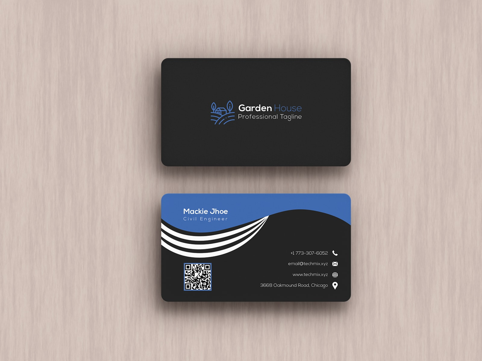Civil Engineer Business cards