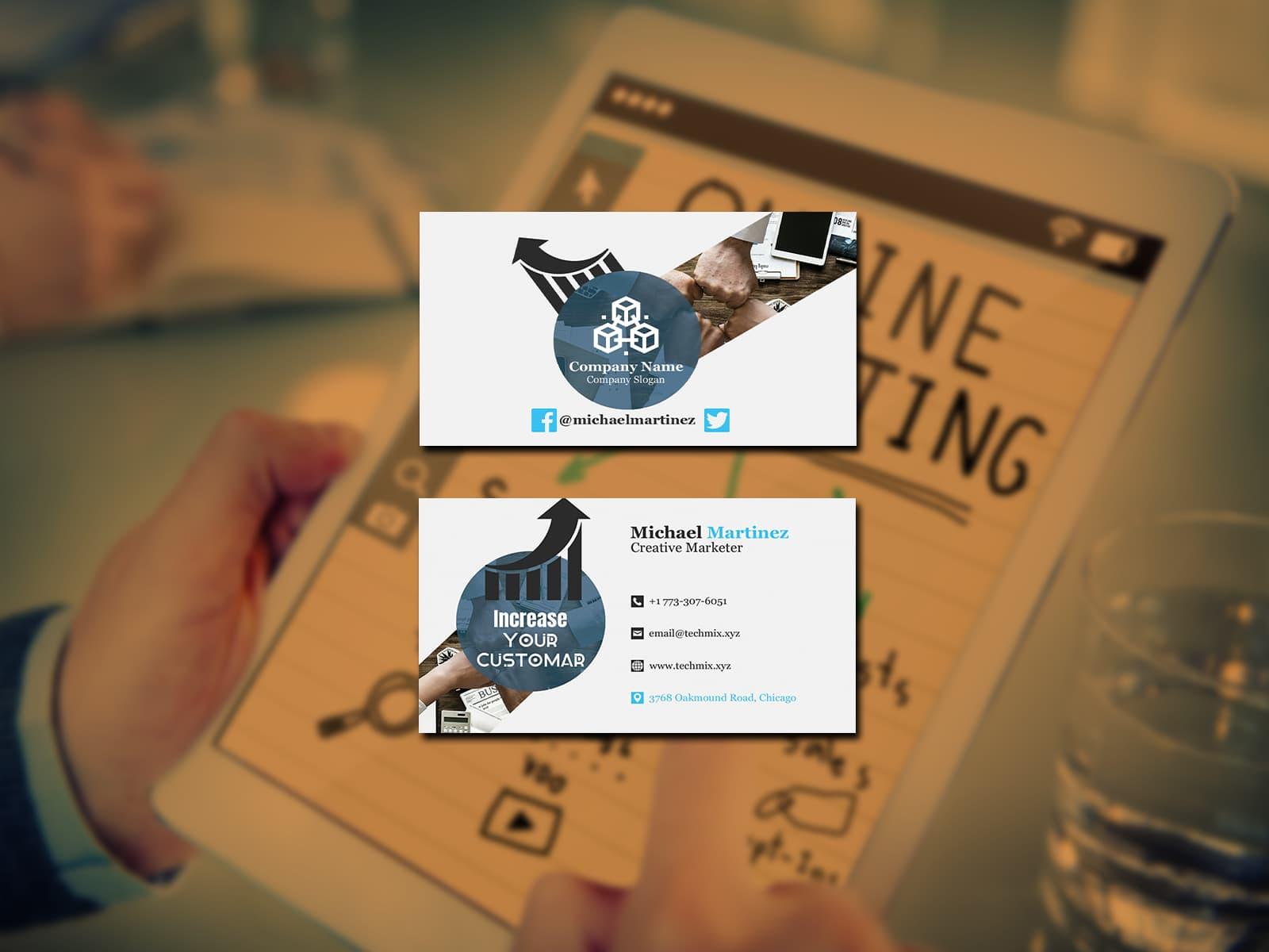Creative Marketer Business Card