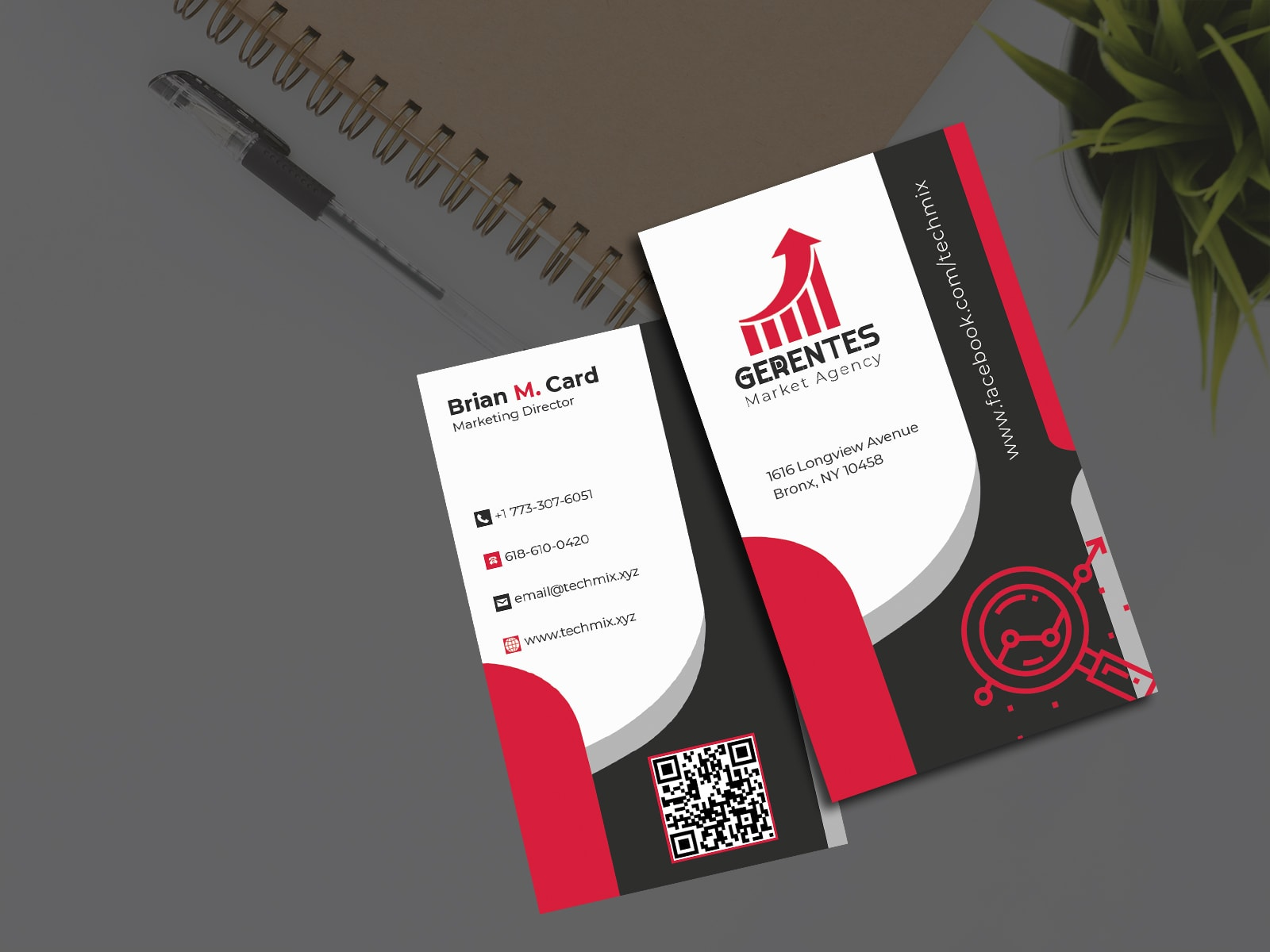 Digital Marketing Agency Business Card
