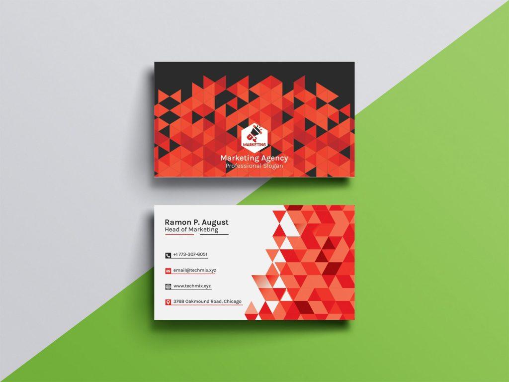 Marketing Agency Business Card