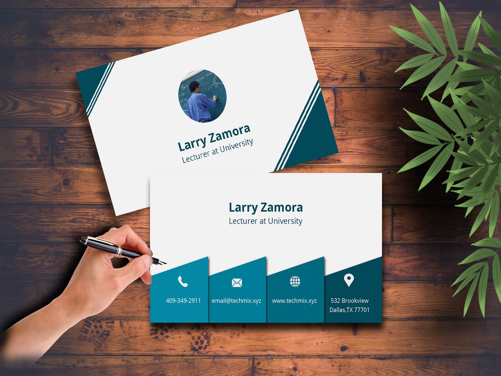 University Lecturer Business Card