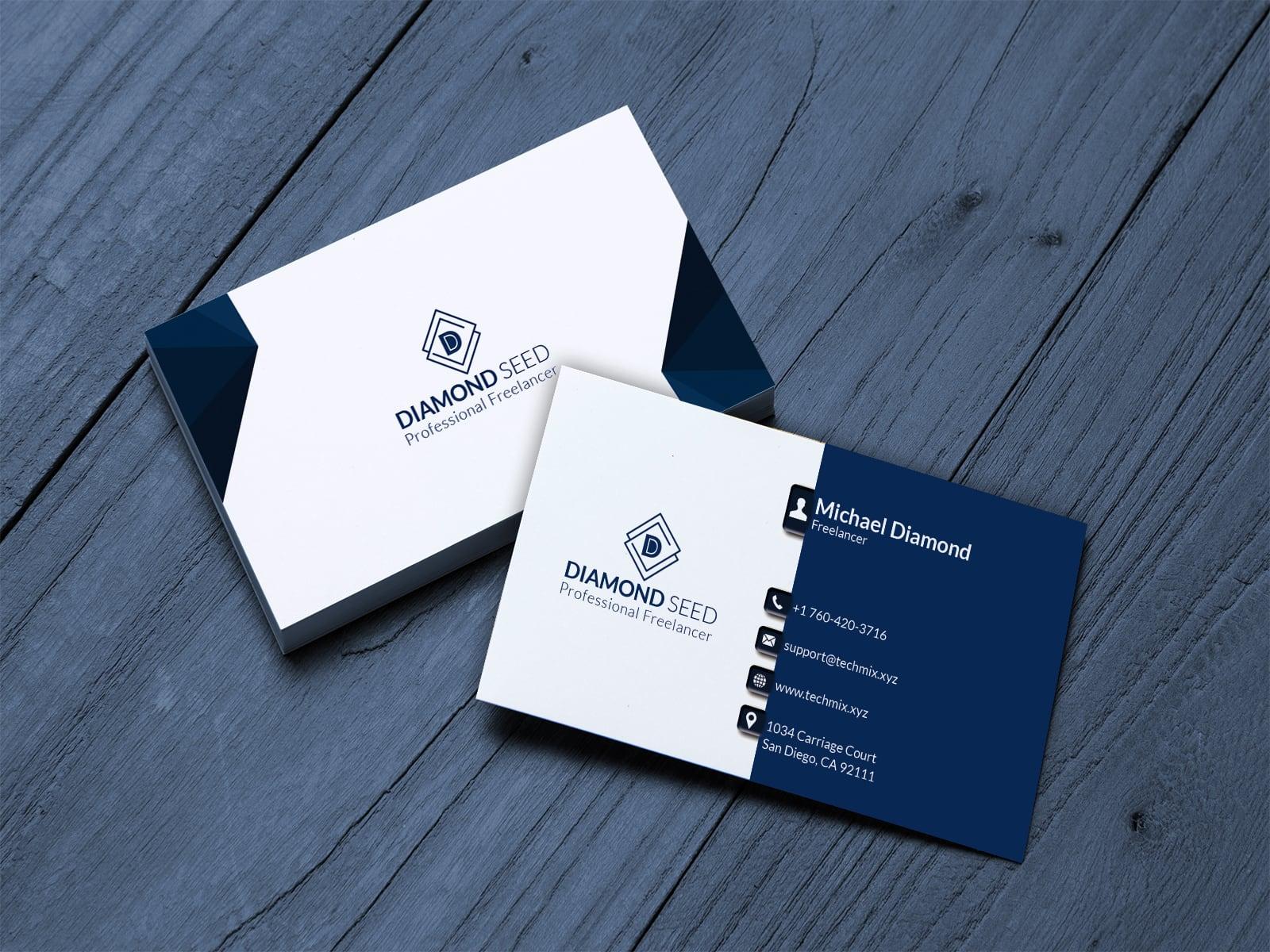 Business Card for Freelancer