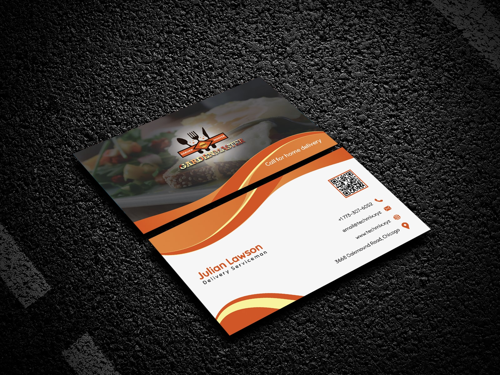 Delivery Man Business Card