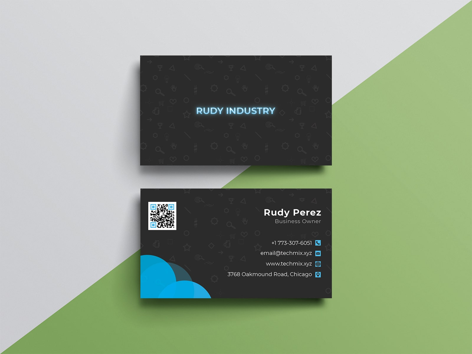 Business Card For Corporate