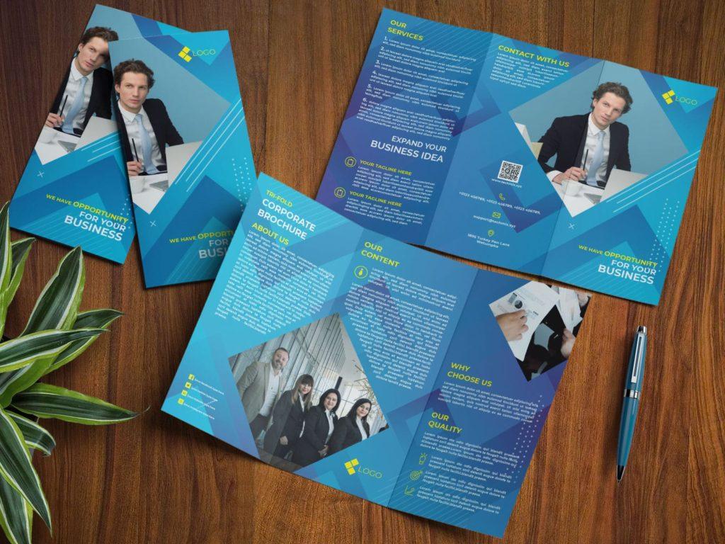 Elegant Corporate Brochure Trifold