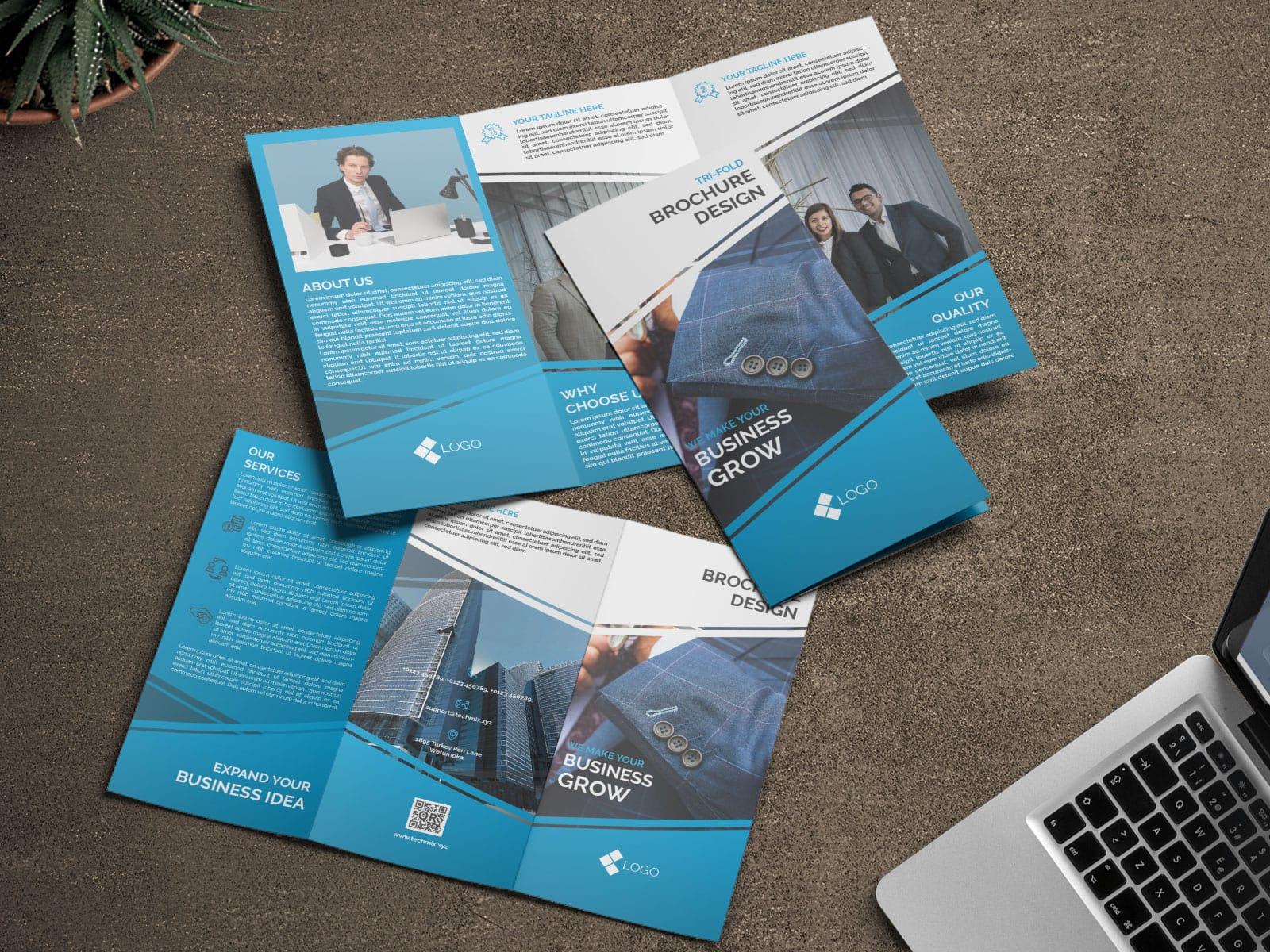 Tri-Fold Corporate Business Brochure