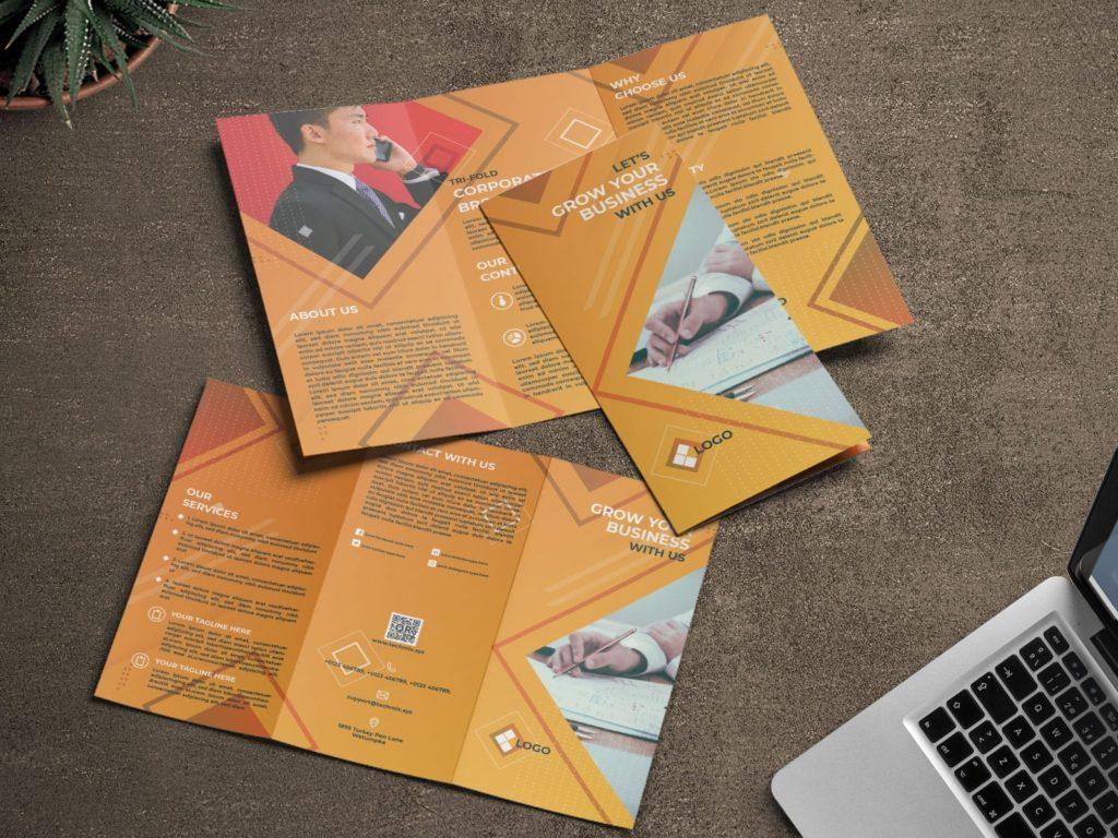 Trifold Corporate Brochure Design